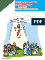 Bahan Kreativitas Sekolah Minggu Hari Raya Kenaikan Tuhan Yesus PIA Kumetiran