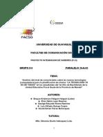 Proyecto Pis 2015