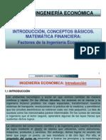 Introdduc-factores de La Ing.economica