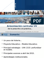 Armonizacion Curricular UV Abril 2015 A