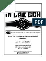 XITO Program 6.26-6.28, 2015 (updated)