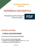 10 Clase 1 Inferencia Estadistica. Prueba de Hipótesis