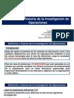 C1 1 Definicion e Historia de La I. O.