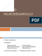 Clase de neurodesarrollo en niños