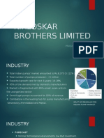 Kirloskar Brothers Limited