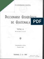 GALL, Francis - Diccionario Geografico Tomo 4 - T a La Z