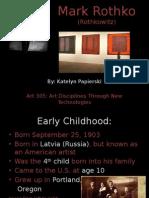 rothko powerpoint