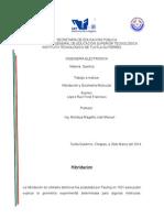 Hibridacion y Geometria molecular.docx