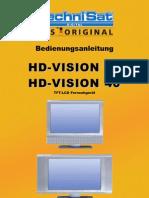 TechniSat HD-Vision 32/40 Bedienungsanleitung