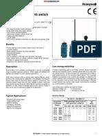 Honeywell GLEA01B Datasheet