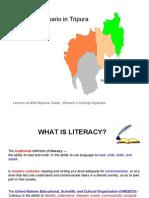 Literacy in Tripura