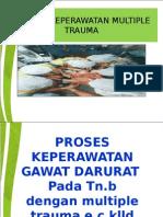 Askep Gadar Multiple trauma Tn B