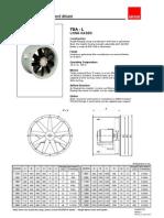 Axial Flow Fan - Leaflet