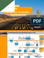 7UT61X Transformer Protection