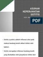 ASUHAN KEPERAWATAN SISTITIS.pptx