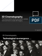3d Cinematography