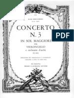 Boccherini - Cello Concerto in G Dur,