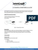 Interconectar 2 Gateway Yeastar sin una PBX