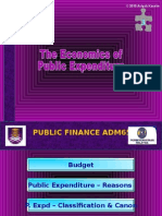 Ads652 - Topic 3 -Public Expenditure