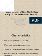 Process Control of Pilot Plant
