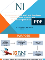 Performance Appraisal and Employee Development , Study Case