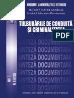 Tulburarile de Conduita Si Criminalitatea