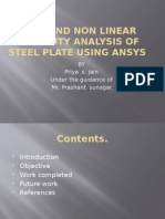 PRESENTATION ON STEEL PLATE BUCKLING