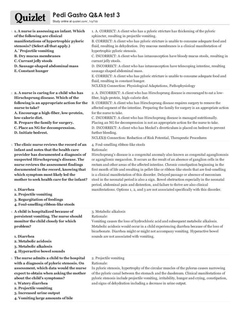 Test 3 | Constipation | Gastroenterology
