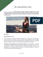 Mudre Joga Polozaji Za Ruke PDF
