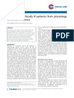 Β-blockers in Critically Ill Patients From Physiology