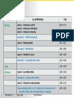 Mesh-Intro 15.0 Agenda