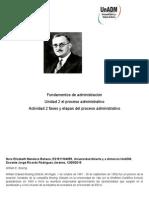 Fases y Etapas Del Proceso Administrativo Nora