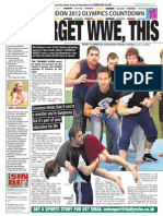 Olympic Wrestling Team Article Mar 2011