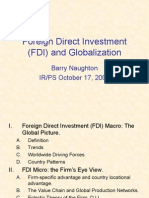 Foreign Direct Investment 2006