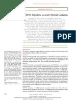 NEJMoa1005143 DNMT3A Mutations in Acute Myeloid Leukemia