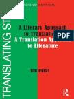 A Literary Approach to Translation