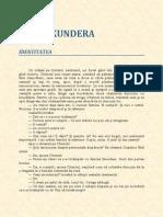 Milan Kundera - Identitatea.pdf