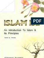 Islam Is...An introduction to islam and its principles