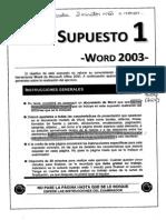 supuestos word 2003