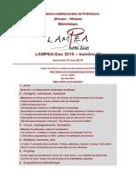 LAMPEA-Doc 2015 – numéro 15 / mercredi 13 mai 2015