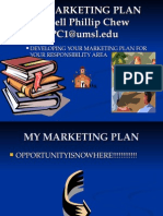 MARKETING PLAN CHEW REV+PPT