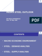 Indian Steel Outlook Iisi - Tata Steel Presentation