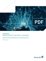 Nathan World Map of Natural Hazards