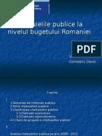 Cheltuielile Publice La Nivelul Bugetului Romaniei