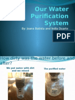 our water purification system info