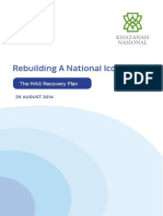 Rebuilding a National Icon-The MAS Recovery Plan