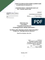 Programa Organiz.prod Mg Calit Berco