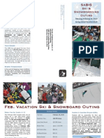 Sabis Ski & Board Trip Brochure 02-18-2010