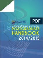 Handbook University malaya