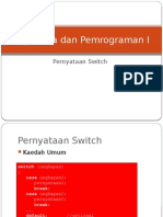 Algoritma1 Peryataan Switch